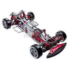 MS-01D VIP II 1/10 Scale 4WD Electric Drift Car Chassis ARR (SSG) (red)