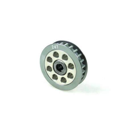Aluminum Center One Way Pulley Gear T24