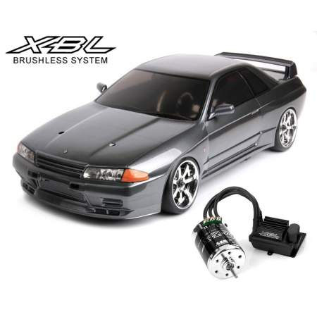 Модель авто MS-01D 1/10 Scale 4WD RTR Electric Drift Car (2.4G) (brushless) NISSAN R32 GT-R
