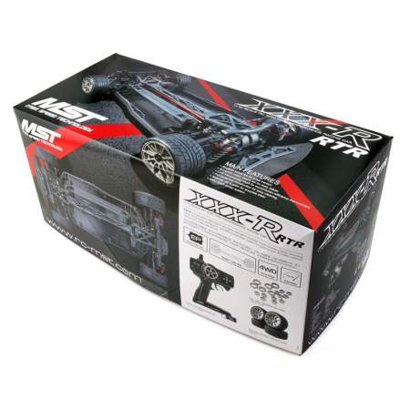 Модель авто XXX-R RTR 1/10 Scale RC 4WD Racing Car (2.4G) NISMO 370Z