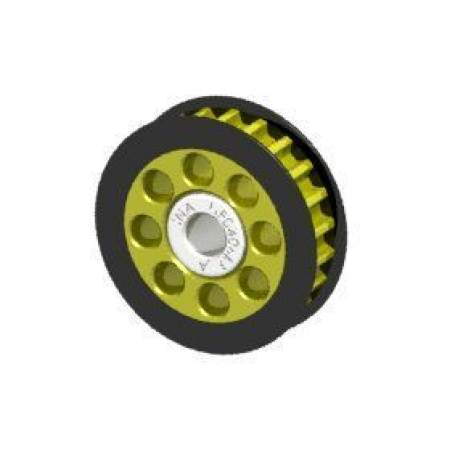 Aluminum Center One Way Pulley Gear T22