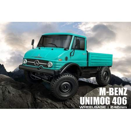 Трофи модель CMX от MST (Max Speed Technology) 1/10 KIT M-BENZ Unimog 406