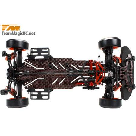 Шасси дрифт 1/10 Electric - 4WD Team Magic E4D-MF Pro Competition Version