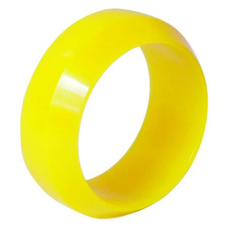 Diamond cut 0 Degree drift tyre yellow 26mm (4pcs)