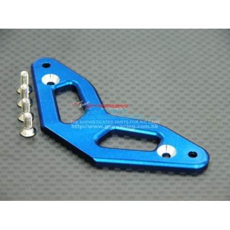 ALLOY FRONT BUMPER THICK 3MM WITH SCREWS - 1PC SET