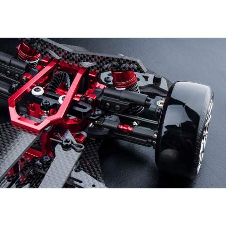 XXX-D VIP 1/10 Scale HT Rear Motor 4WD Electric Shaft Driven Car ARR (red)