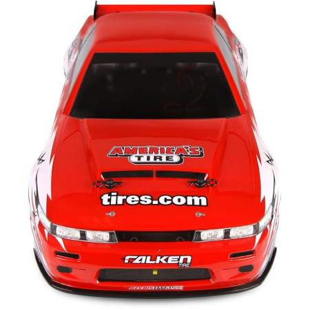Дрифт 1/10 - E10 NISSAN S-13/DISCOUNT TIRE BODY (NEW)