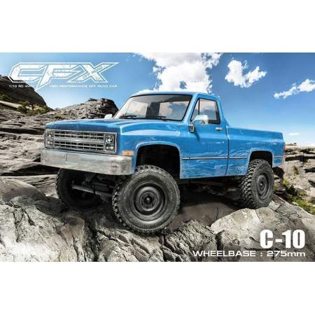 Трофи модель CFX 1/10 4WD High Performance Off-Road Car KIT (w/o ESC&motor, C-10)