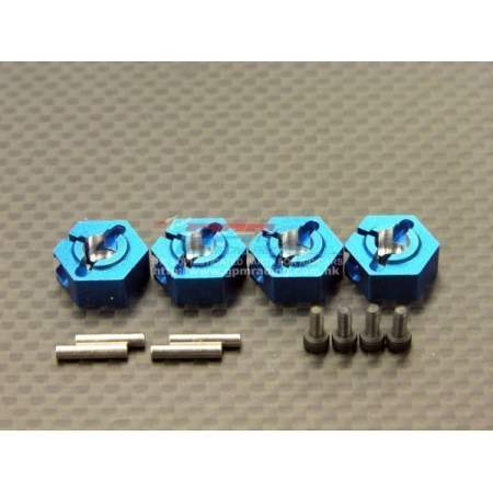 Alloy Wheel Adapter Set Blue