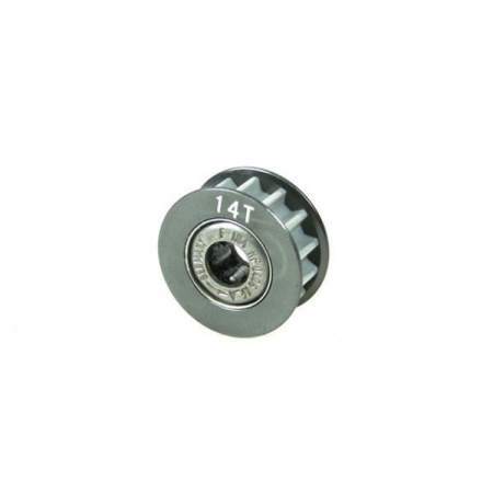 Aluminum Center One Way Pulley Gear T14