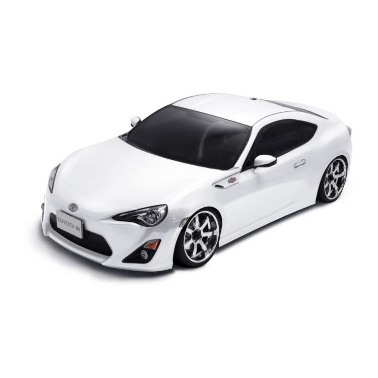 Модель авто MS-01D 1/10 Scale 4WD RTR Electric Drift Car (2.4G) TOYOTA FT-86 (white)