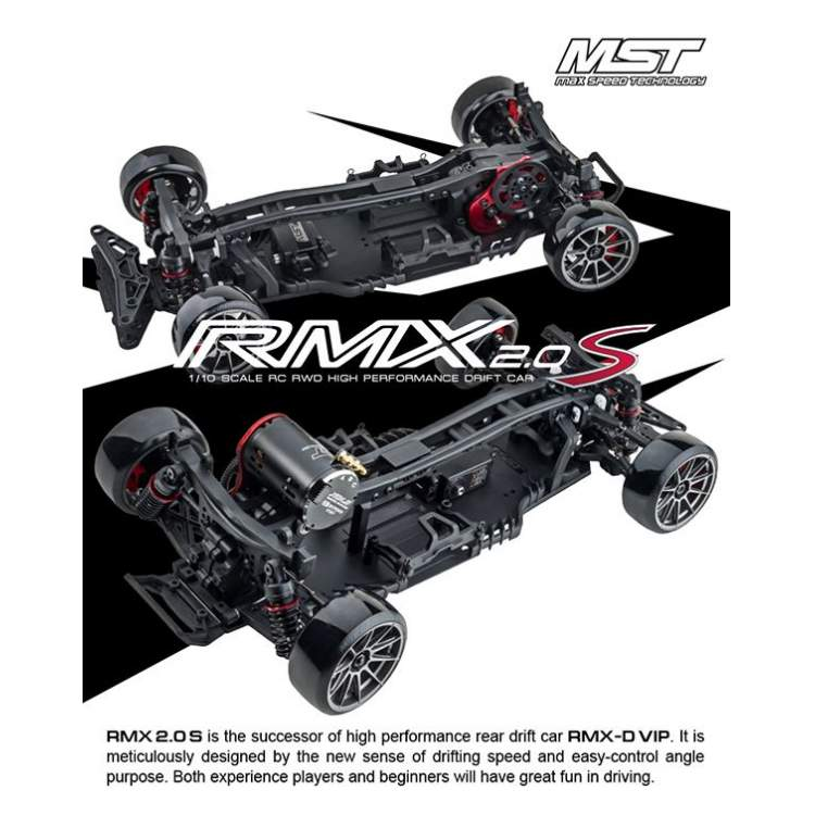 RMX-S 2WD 1/10 Scale 2WD Electric Shaft Driven Car KIT