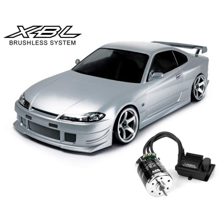 Модель авто MS-01D 1/10 Scale 4WD RTR Electric Drift Car (2.4G) (brushless) NISSAN S15