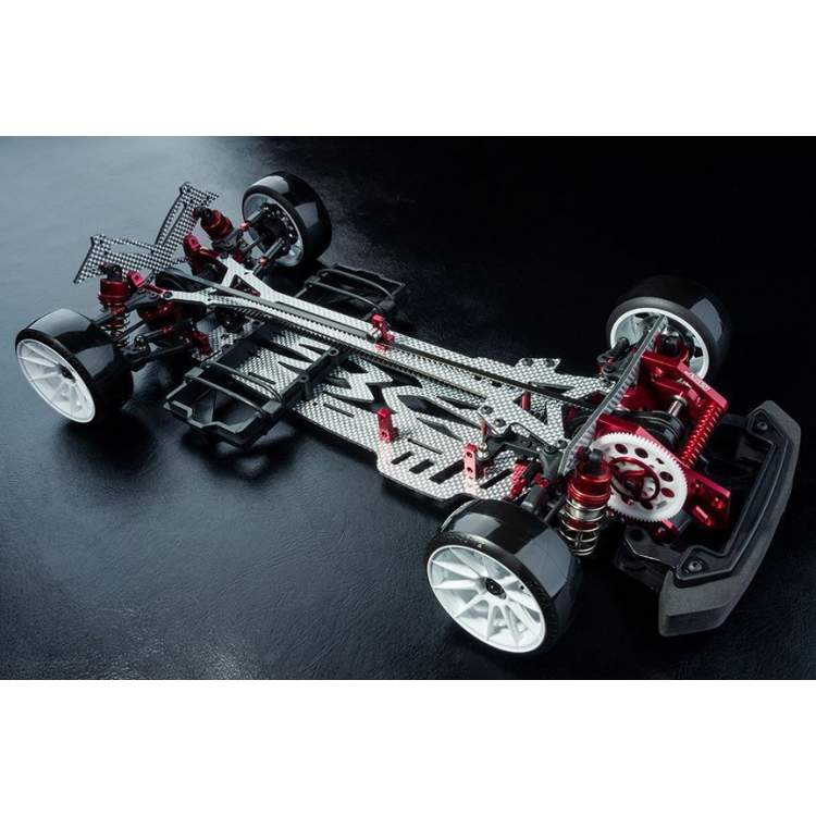 FS-01D 1/10 Scale Front Motor 4WD Electric Drift Car KIT (red)