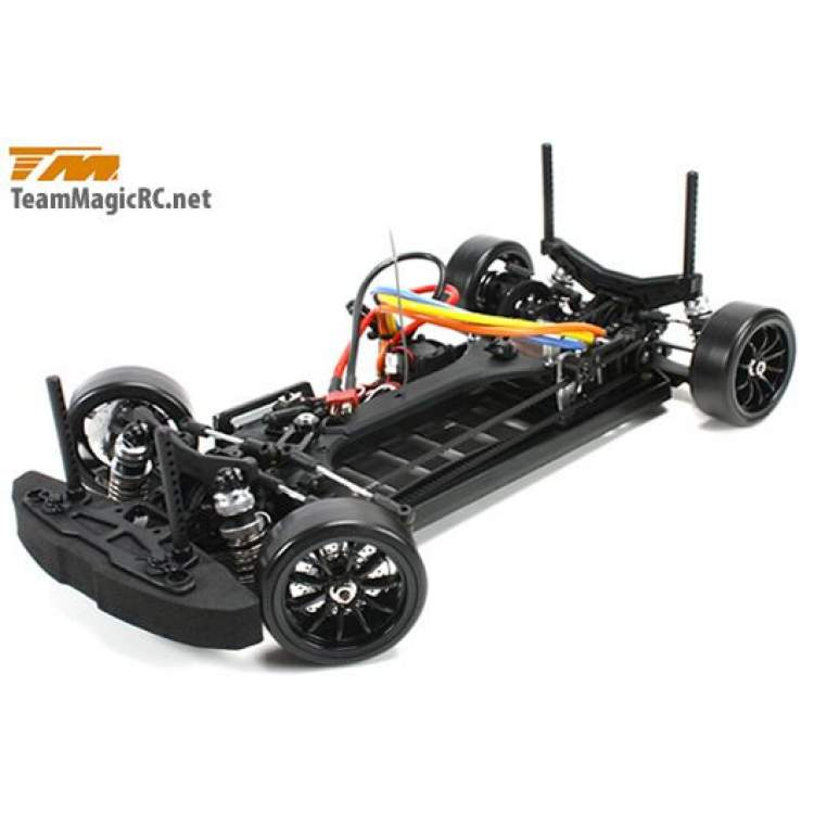 Дрифт 1/10 электро E4D EVX RTR (Brushless Spec.)