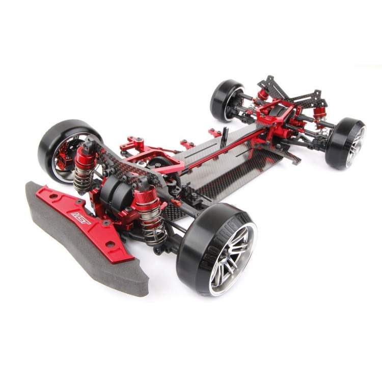 XXX-D VIP 1/10 Scale Rear Motor 4WD Electric Shaft Driven Car ARR (red)