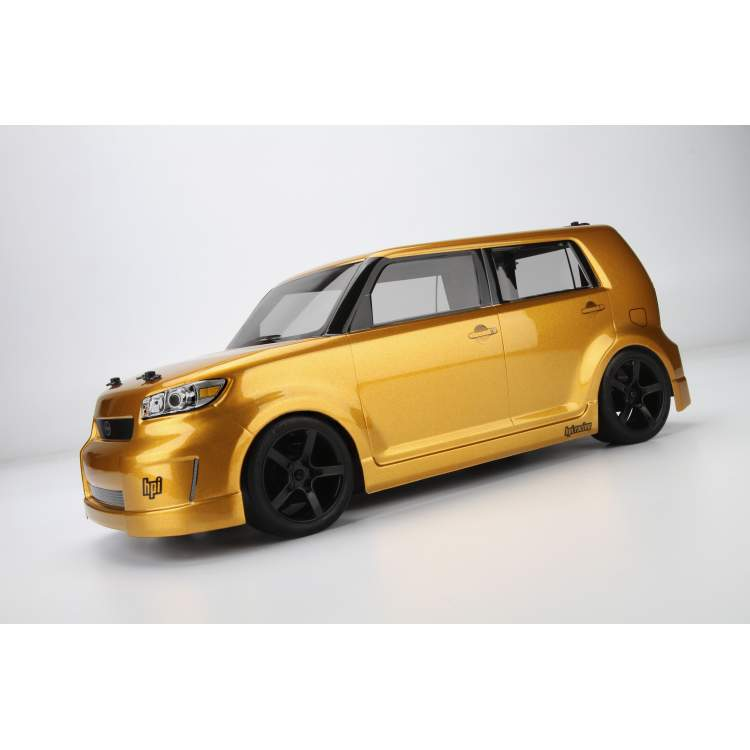 Туринг 1/10 мини RTR SWITCH (кузов SCION XB) (GOLD RUSH MICA) (US)
