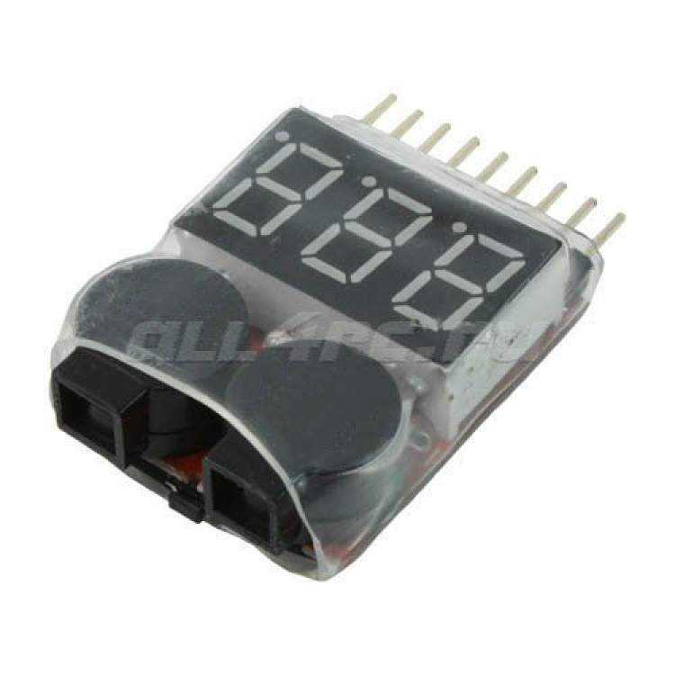 Low Voltage Buzzer for 1S-8S Li-Po Battery with LCD Display