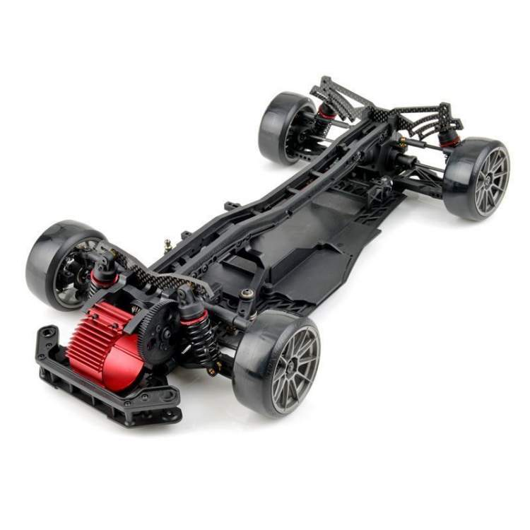 FSX-D Ultra Front Motor 1/10 Scale 2/4 WD Electric Drift Car Chassis KIT