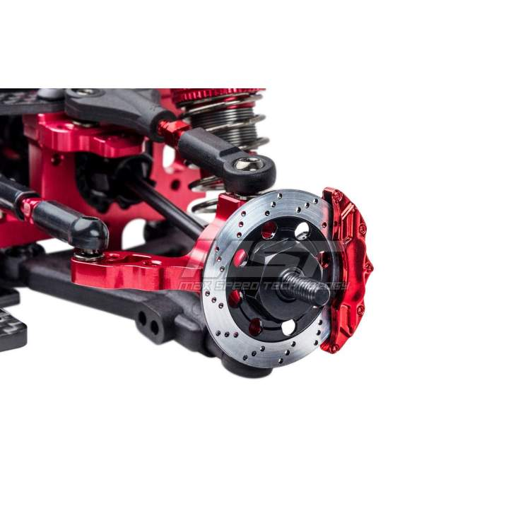 Дрифтовая модель MS-01D VIP II 1/10 Scale 4WD Electric Drift Car Chassis ARR (SSG) (red)
