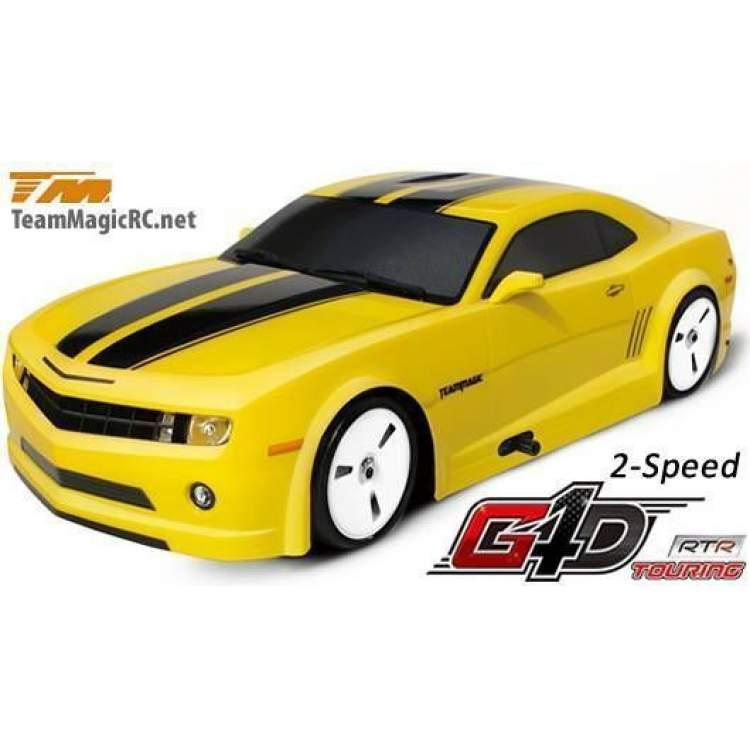 Туринг 1/10 нитро G4D Rubber Tyre RTR (2 speed)-CMR