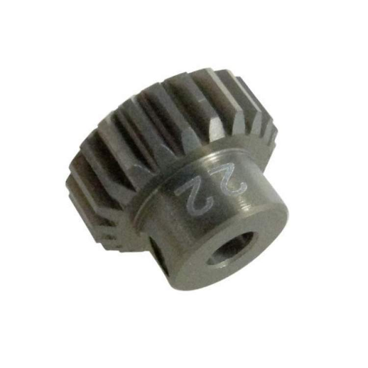 48 Pitch Pinion Gear 22T (7075 w/ Hard Coating)