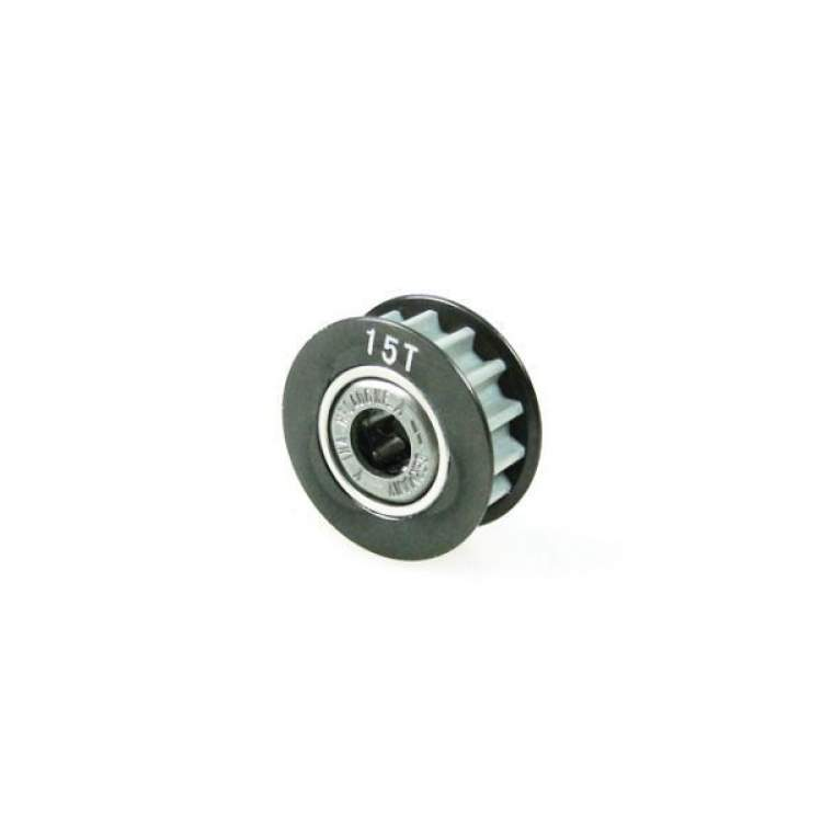 Aluminum Center One Way Pulley Gear T15