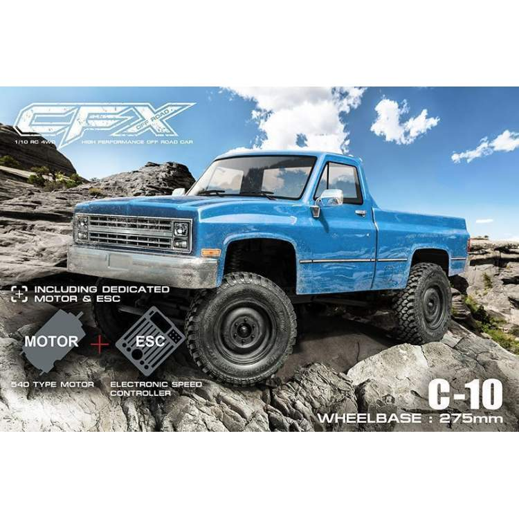 Трофи модель CFX 1/10 4WD High Performance Off-Road Car KIT (w/ESC&motor, C-10)